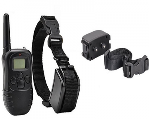 Remote Static and Vibration Dog Training Collar
