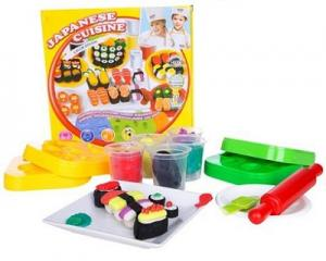 Japanese Sushi Plasticine Play Set