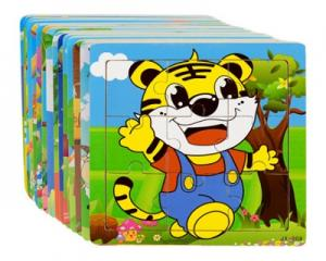 Set of 5 Animal Fun Puzzle