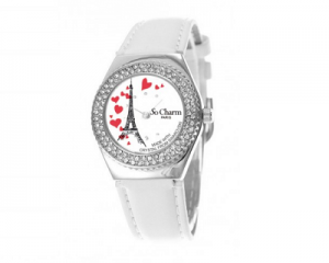 So Charm Paris Watch Made with Crystals from Swarovski