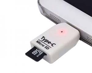 USB C Micro SD Reader