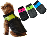 Zip-Up Waterproof Dog Coat