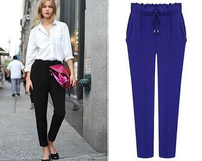 Casual Drawstring Pants