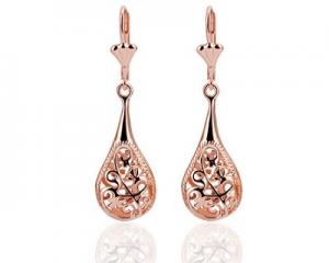 18K Gold Plated Stylish Drop Earrings