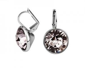 18K Plated Shinning Crystal Earrings