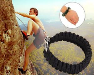 Outdoor Survival Emergency Rope Bracelet