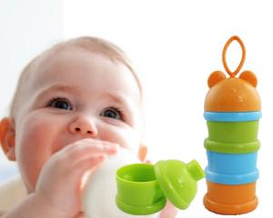 3-Compartment Baby Food Carrier